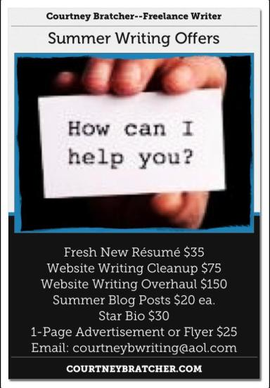 Summer Writing Offers